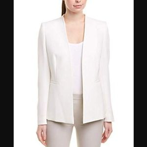 ESCADA White Structured Open Blazer